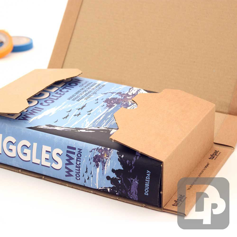 Postal Boxes and Postal Wraps for sending small parcels in the post