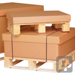 Cardboard Pallet Boxes for Bulk Packing on Pallets