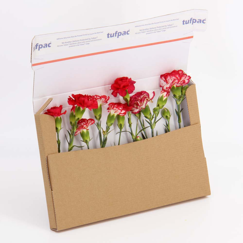Flower Mailing Boxes with White Inside for Online Flower Shops