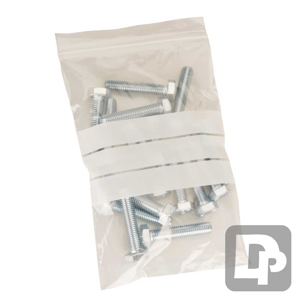 Write-On 75mm x 185mm Gripseal Bag
