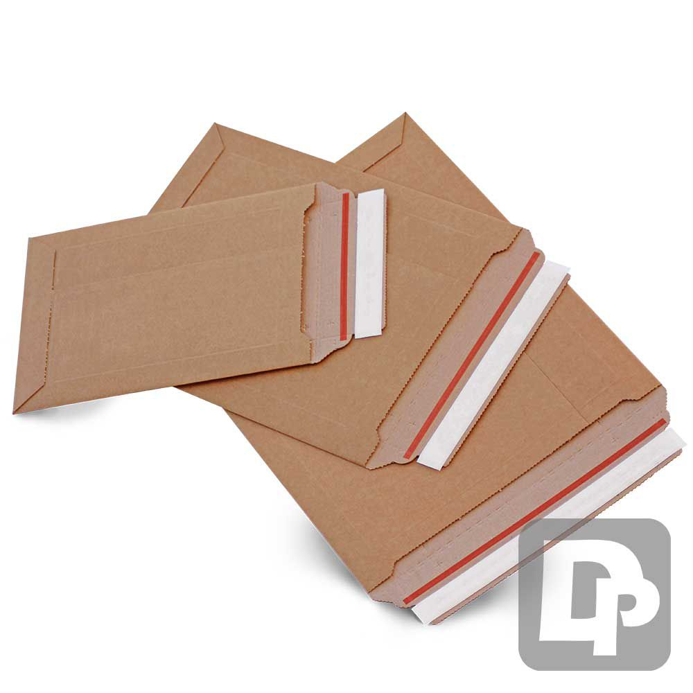 215 x 300 x 50mm Corrugated Board Envelope (Box of 100)