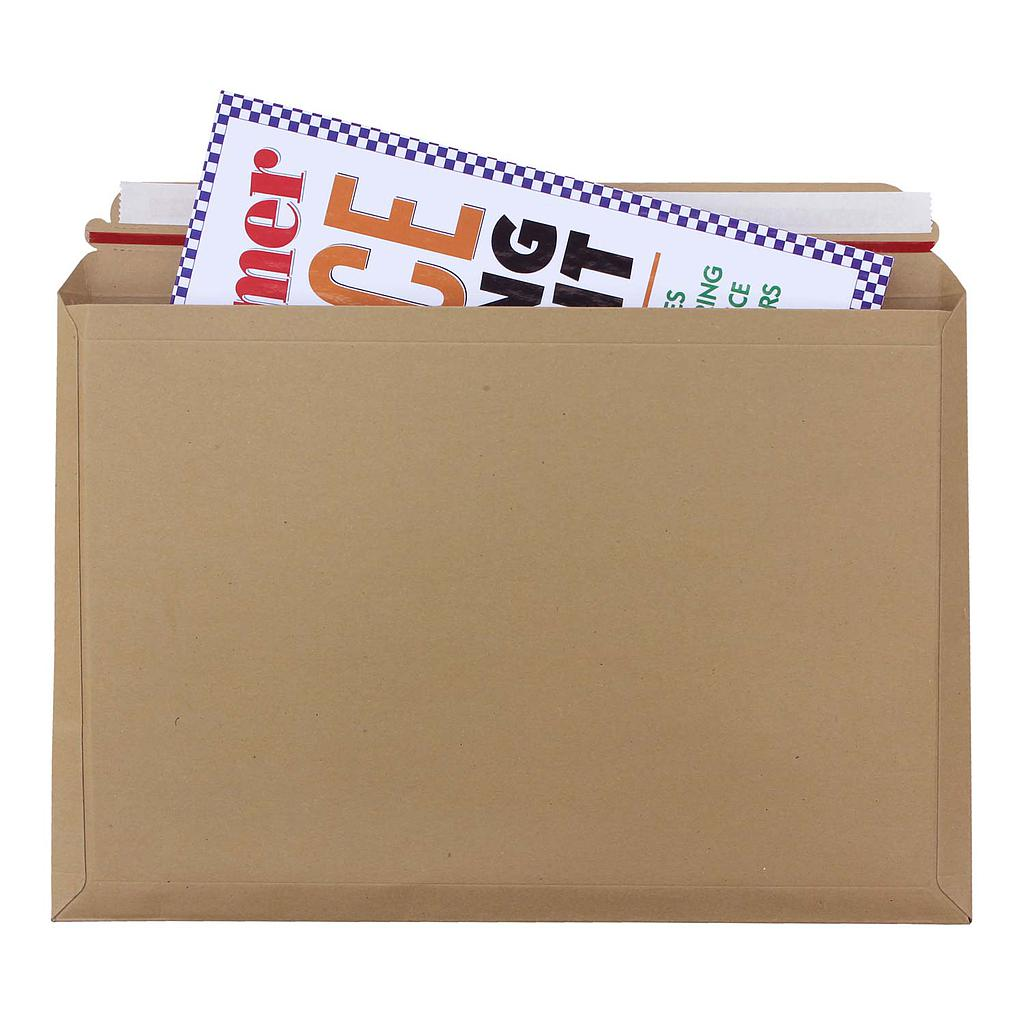 Tufpac 180mm x 235mm Capacity Book Mailers (Box of 100)