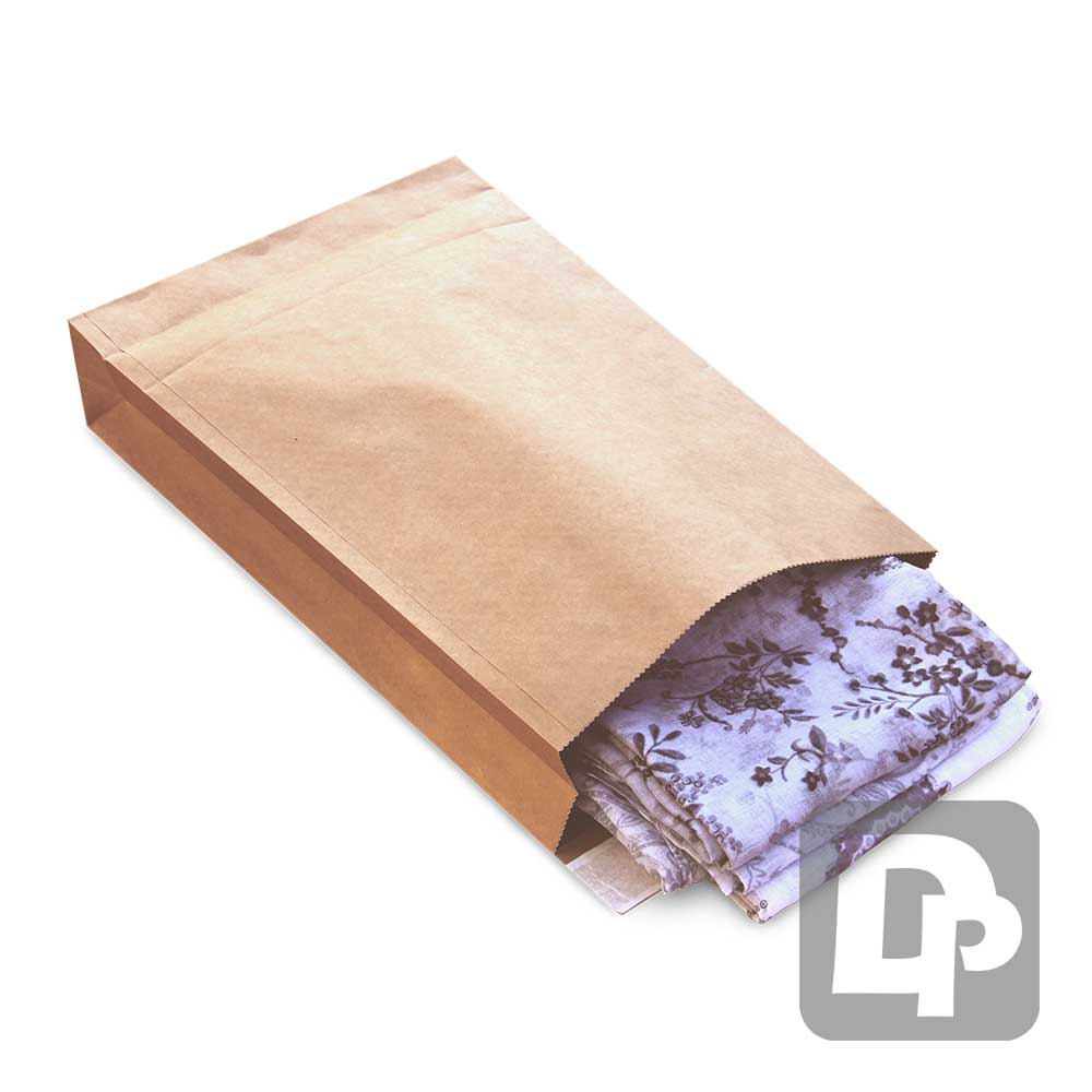 Paper Mailing Bag 250mm x 353mm + 50mm Gusset with Peel & Seal Closure (250/pk)