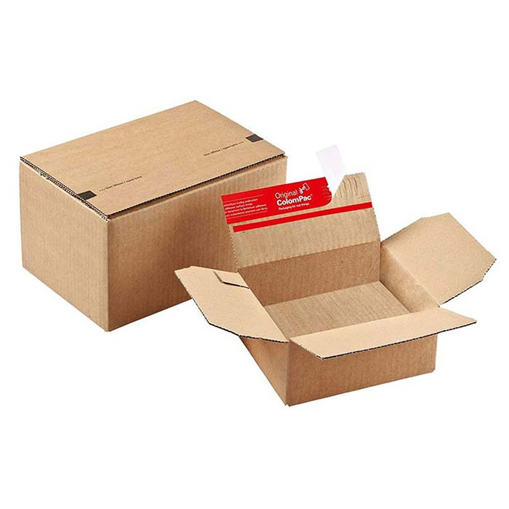 Colompac® CP151 Instant Bottom Pop-up Boxes (10/Pack)